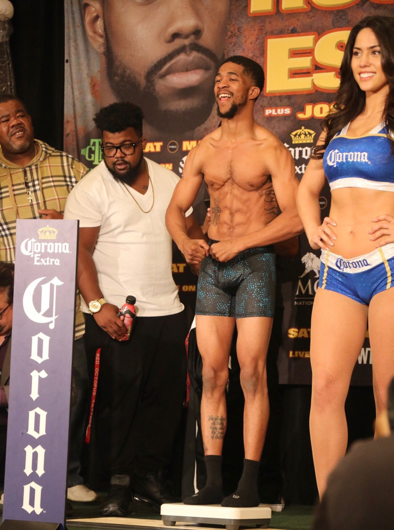 Russell Escandon Weigh in 1