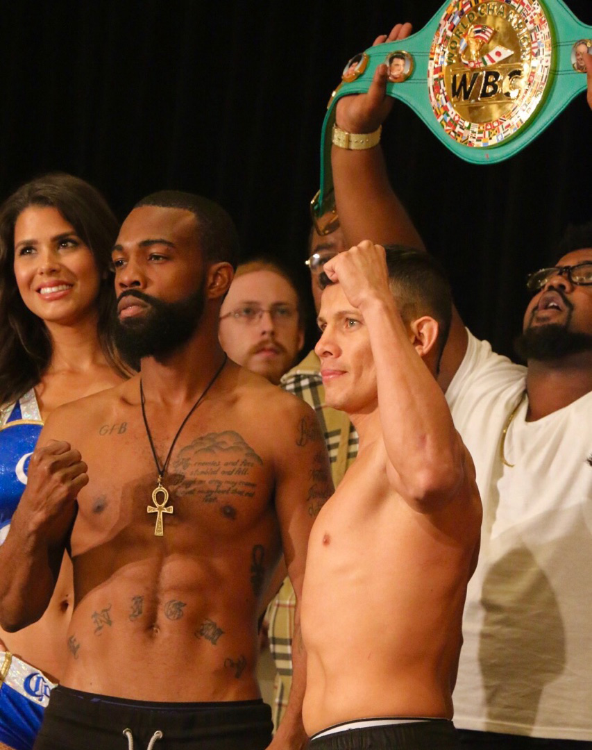 Russell Escandon Weigh in 8