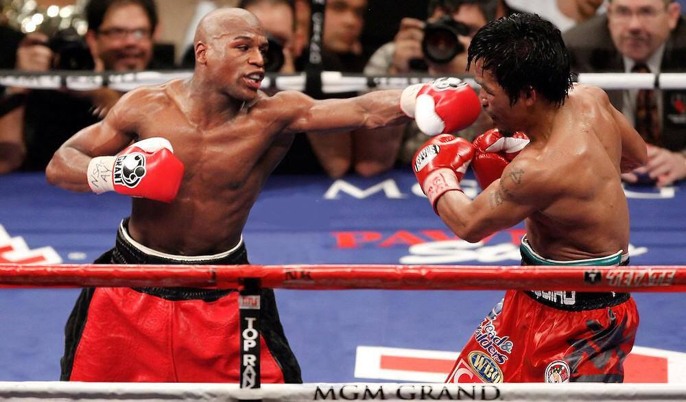 Mayweather vs Pacquiao May 2