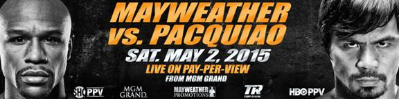Mayweather v Pacquiao Banner