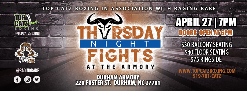 Thursday night fights at the armory tickets go on sale - The armory show tickets ...