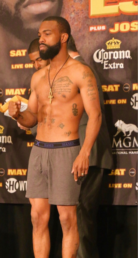 Gary Russell Jr Weigh In